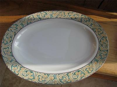 """BHS Valencia large  round meat platter 12"""""""