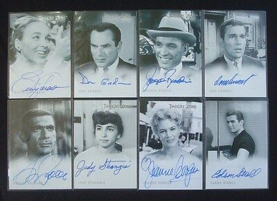 LOT Rittenhouse *TWILIGHT ZONE* Auto/AutoGraph Cards DON GORDON Pollack GARLAND