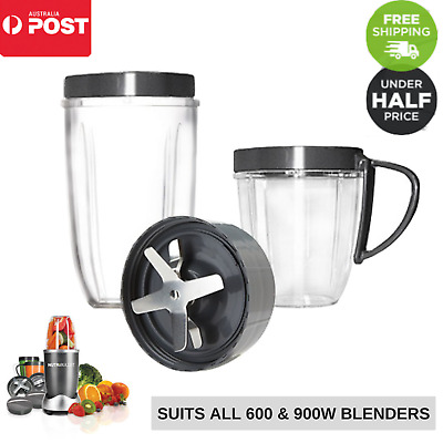 Nutribullet Tall Cups Extractor Blade Lids Blender 600 900w Replacement Parts