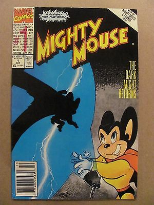 Mighty Mouse #1 Marvel Comics 1990 Series Newsstand Edition