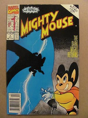 Mighty Mouse #1 Marvel Comics 1990 Series Newsstand Edition 9.2 Near Mint-