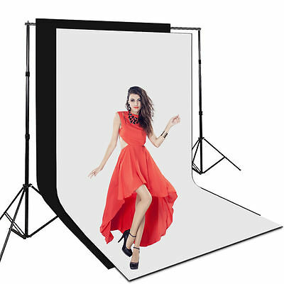 2X3M Photo Studio Backdrop Lighting Video Background Support Stand Kit