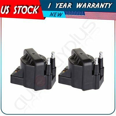 Pack of 2 New Ignition Coils for Buick LaCrosse LeSabre Rendezvous DR39 10470600