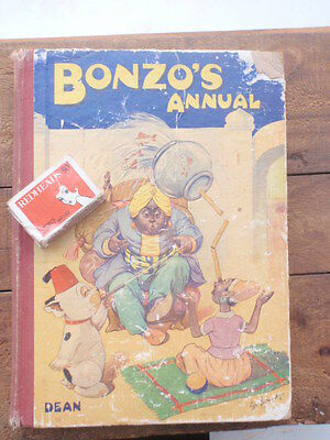 1950's   Bonzo  Annual  illustrated 120 pages