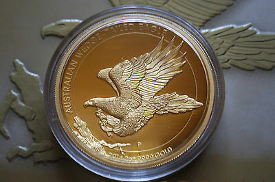 Wedge Tailed Eagle 2oz Gold PP High Relief 2014