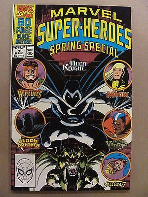 Marvel Super Heroes Spring Special #1 Moon Knight Magik Black Panther Speedball