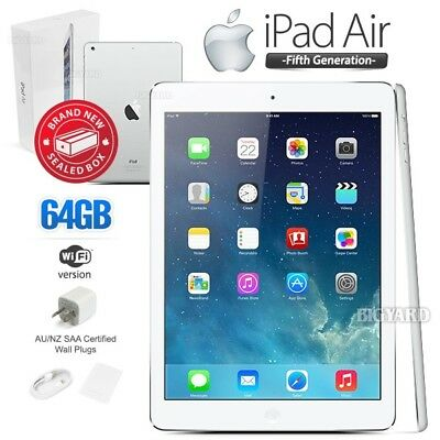 New In Sealed Box APPLE iPad Air 5th Gen White 64GB Retina PC Tablet (WiFi Only)