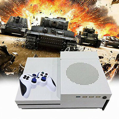 For Xbox One S Console Vertical Stand Cooling Fan and 4 Ports USB Hub