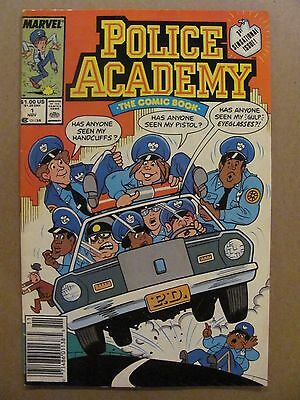 Police Academy #1 Marvel Comics 1989 Series Newsstand Edition