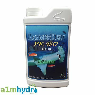 Advanced Nutrients Hammerhead 1 Litre 1L PK 410 Hydroponics