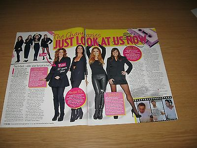 THE CHANTOOZIES - 2 page magazine clipping - ALLY FOWLER TOTTIE GOLDSMITH EVA