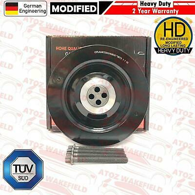 FOR BMW X3 X5 X6 E53 E70 E71 E72 E83 3.0 Turbo Diesel Crank shaft pulley OEM New
