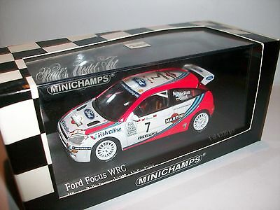 Ford Focus RS WRC winner Portugal '99 C.Mac Rae 1/43 used/untouched ultrarare