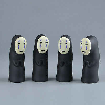 Studio Ghibli Spirited Away No Face Man Vinyl Action Figure Miyazaki Hayao Anime