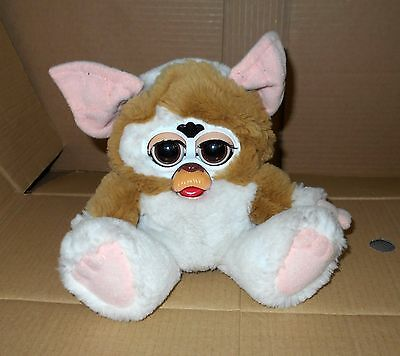 Retro Furby Gremlins Gizmo *working* Tiger Interactive Electronic Plush Pet