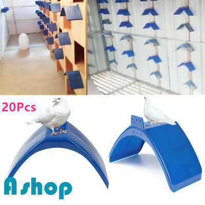 20pcs Dove Rest Stand Frame Pigeon Perches Roost Bird Supplies Grill Dwelling