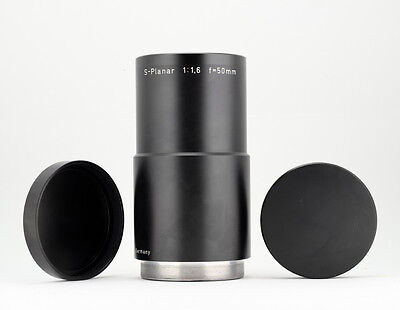 Carl Zeiss S-Planar 50mm 1:1,6 Ultra-Resolution Telecentric Lens - Rare - Minty