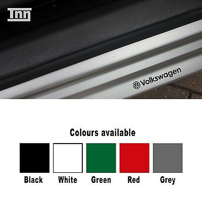 Volkswagen Vw Inner Door Sill Jam Car Decal Stickers X 4 Golf Scirocco Polo Lupo