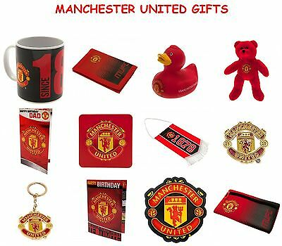 Manchester Man Utd F.c. Official Football Club Gifts.