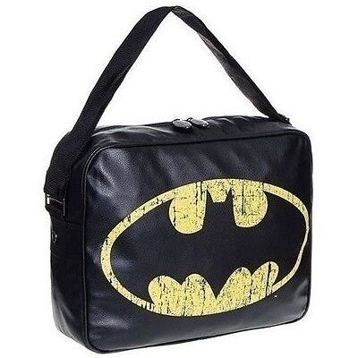 Batman Distressed Logo Messenger Bag Brand new with tags