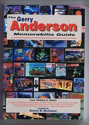 The Gerry Anderson Memorabilia Guide Very Rare Toys, Games, Free Gifts