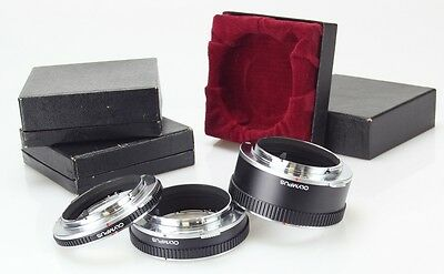 Olympus 3 X Extension Ring 7 - 14 - 25 Mount OM  (Réf#M-114)