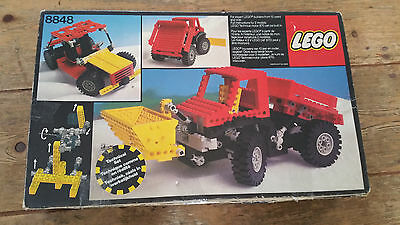 lego 8848 empty box BOX ONLY good condition