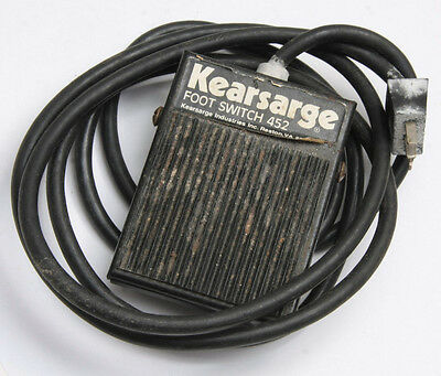 Kearsarge Foot Switch 452 for Timers 201 301 403 503 and Others - USED C314
