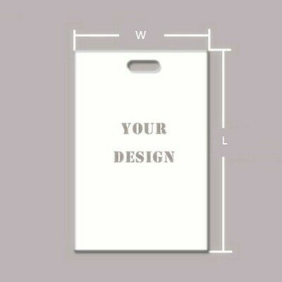 Wholesale500pcs Customized Plastic Merchandise Bag 15*20cm DesignYour Logo
