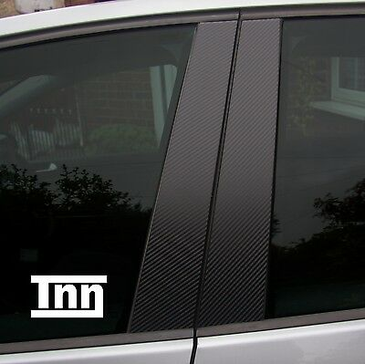 Set of Carbon Fibre effect trims for Golf MK5 Door Pillars 3 Door 5 Door