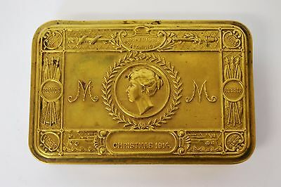 Christmas 1914 Princess Mary Gift Tin (Empty) - 2471