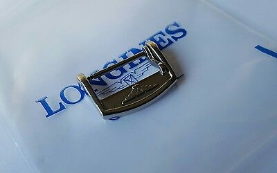 18Mm Longines Stainless Steel Buckle, Fits 20Mm Strap