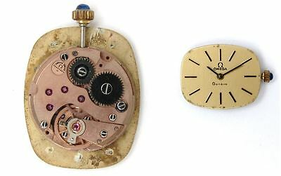 OMEGA 625 original ladies watch movement working (5221)