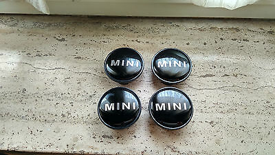 "SET 4 COPRIMOZZO MINI COOPER 54mm TAPPI CERCHI RUOTA  ""MADE IN GERMANY"" ONE"