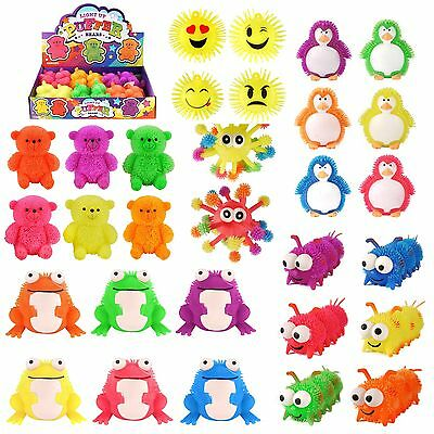 Flashing Puffer TOYS BULK BUY Wholesale Squidgy Sensory Stress TOY - Pack of 12