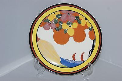 Wedgwood limited edition Clarice Cliff Appliqué Palermo pottery plate