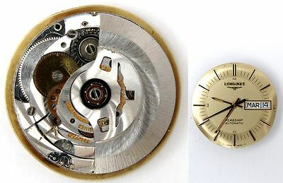 LONGINES L636.1 original automatic watch movement for parts / repair (5230)