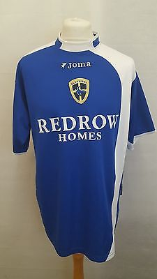 Cardiff City Fc Shirt Joma Home Size L Large - 2005/2006 Blue - Koumas Era