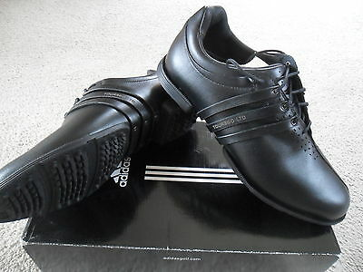 Mens Golf Shoes Adidas Tour360 Ltd Tch Spikeless Waterproof Uk8 Eu42 Leather