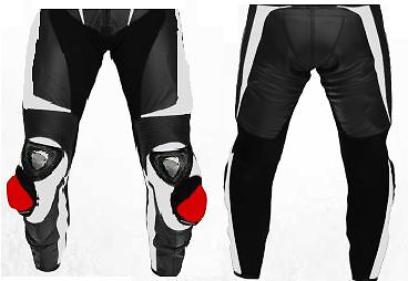 Titanium Armour Motorcycle Leather Trouser Motorbike Racing Leather Pant