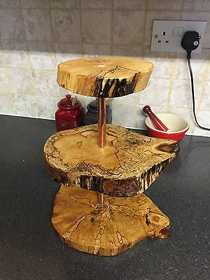 Rustic 3 tier Cake stand/cupcake stand/wedding/birthday/christening/centre piece
