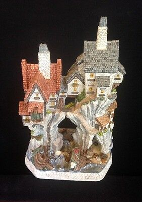 David Winter ~ WRECKERS COTTAGES PREMIER ~ MIB ~ COA ~ SIGNED BY DAVID WINTER