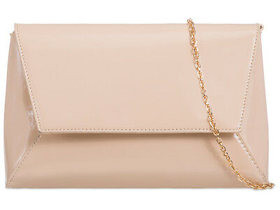Patent Elegant Brand Fashion Style Ladies Party Wedding Evening Clutch Bags L467