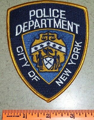 City of New York Law Enforcement Police Shoulder Patch