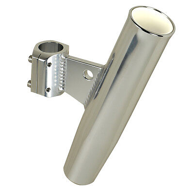 """C.E. Smith Aluminum Clamp-On Rod Holder - Vertical - 1.66"""" OD - Fits 1-1/4"""" Pipe"""