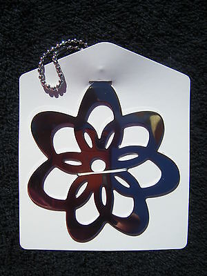 Hallmark Gift Trim FLOWER POWER Tag Key Chain - LOT OF 4 -NEW Discontinued
