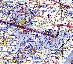 Southern England and Wales 1:500,000 VFR Chart *LATEST EDITION 43*
