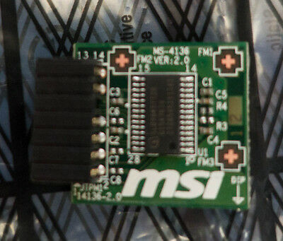 MSI TPM MS-4136 Trusted Platform TPM V2.0