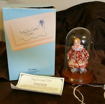 Vtg 1997 Betty Jane Carver Treasure of the Month Doll February C.O.A. #466/1000