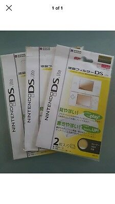 Nintendo Ds Lite Screen Protector/ Clear LCD Display/ Guard Ndsl/ DSL